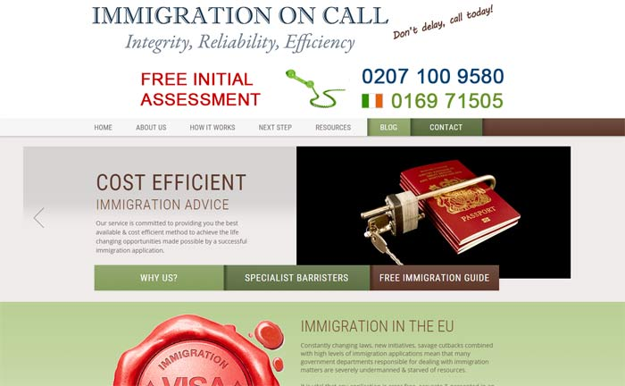 Immigration on Call