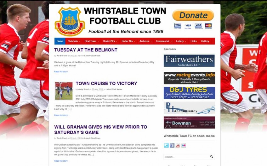 Whitstable Town Football Club
