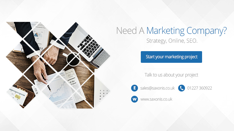 marketing company kent