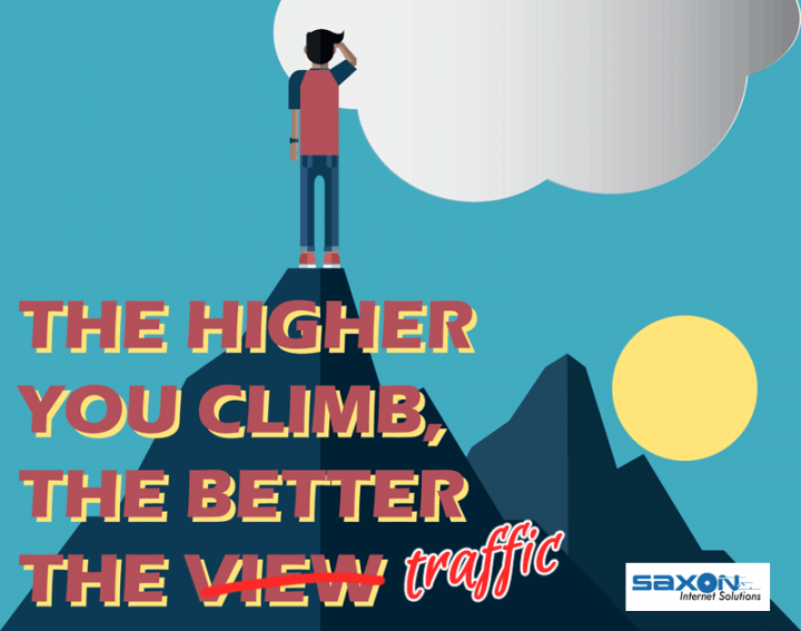 The Higher you climb. the better the traffic