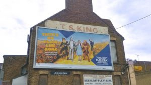 Billboard ad in Herne Bay, Kent