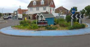 Roundabout advert Herne Bay